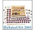 Rotary 100 Bits Mini  Hobby Dremel Tool Kit Rotomatic Ni Logo