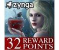 Zynga VampiresBloodlust 32 Reward Points FREE